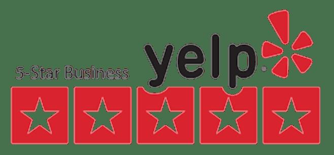 5-star business yelp logo