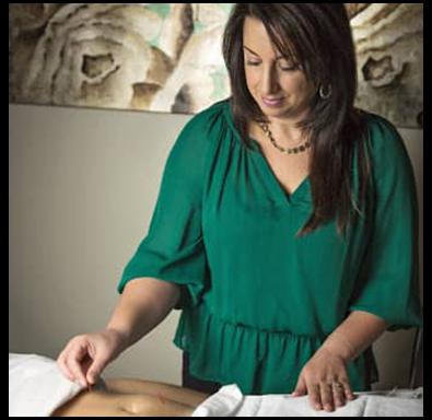 woman in green shirt corporate wellness